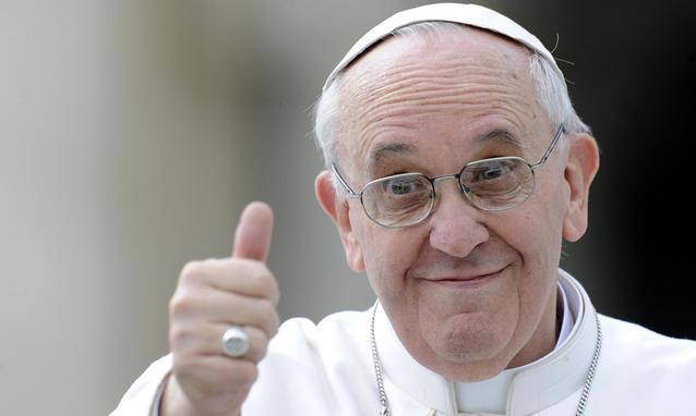 papa francesco un americana a roma