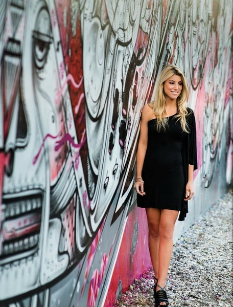 Photo credit: Graffiti, Aisha Singleton; Makeup: Lauren Cosenza
